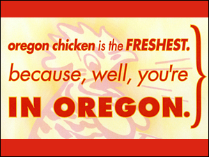 Oregon Fryer Commission  –  Outdoor, Poster